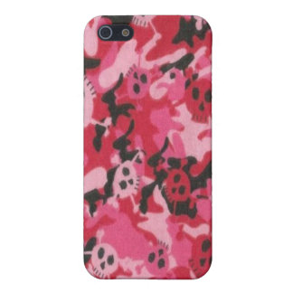 Camo Pink Red Skulls Speck Case iPhone 4 Cover For iPhone 5/5S