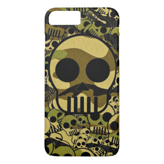 camo pop skull iphone 7 plus case