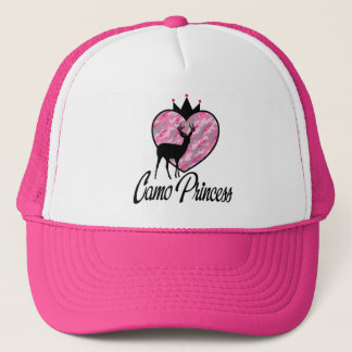 Camo Princess Trucker Hat