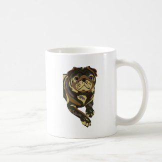 Camo Pug Mugs