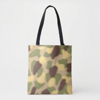 Camo Ripple Tote Bag