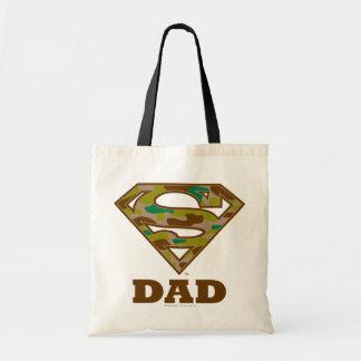 Camo Super Dad Budget Tote Bag