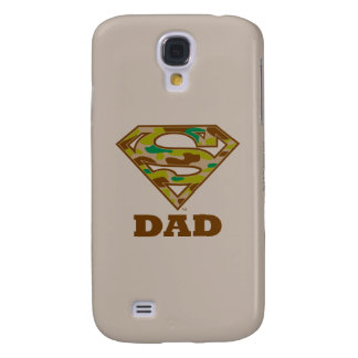 Camo Super Dad Galaxy S4 Case