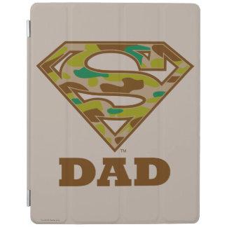 Camo Super Dad iPad Cover