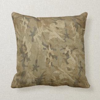 Camo Throw Cushion