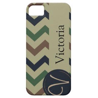 "Camo ""V"" ""Victoria"" Monogram phone case iPhone 5 Covers"