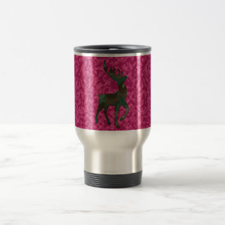 Camo with Deer Travel Mug