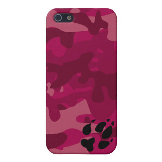 Camo with Foxpaw iPhone 5 Cases