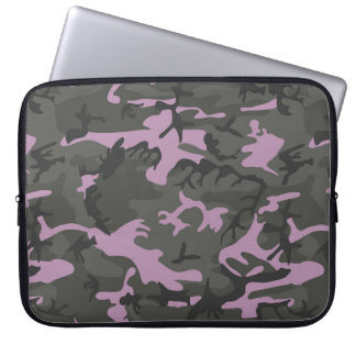 Camo with Pink Computer Sleeve