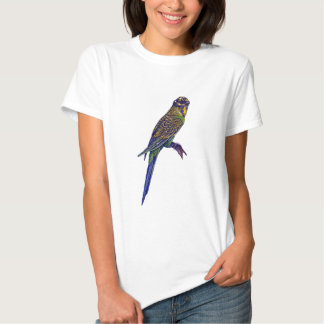 Camoflage Budgie T-shirts