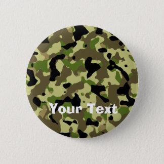 Camoflage Khaki Commando Game Badge Name Tag