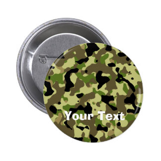 Camoflage Khaki Commando Game Badge Name Tag