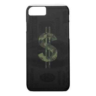 Camoflage Money Symbol iPhone 7 Case