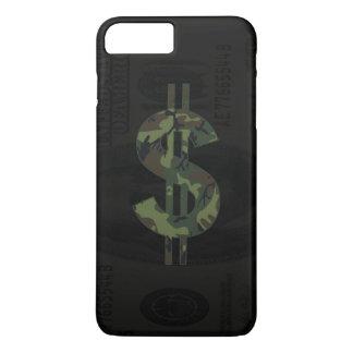 Camoflage Money Symbol iPhone 7 Plus Case