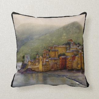Camogli, Italy, Pillow