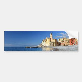 Camogli, seaside and church bumper sticker