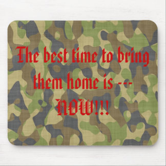 camoufflage mouse pad
