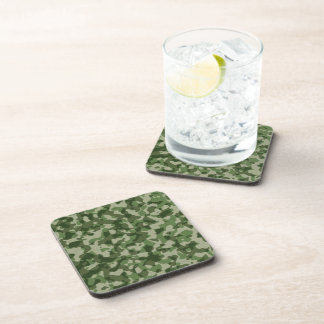 Camouflage 2 drink coaster