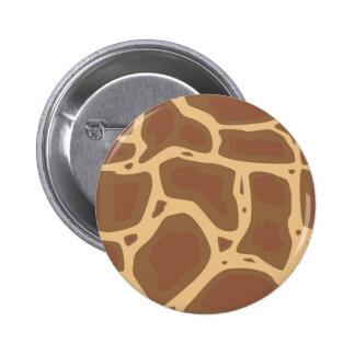 Camouflage 6 Cm Round Badge