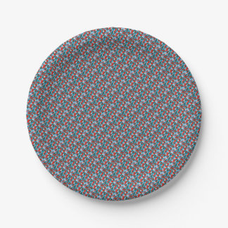 Camouflage 7 Inch Paper Plate