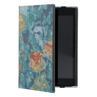 Camouflage and flowers cover for iPad mini