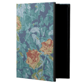 Camouflage and flowers iPad air cover