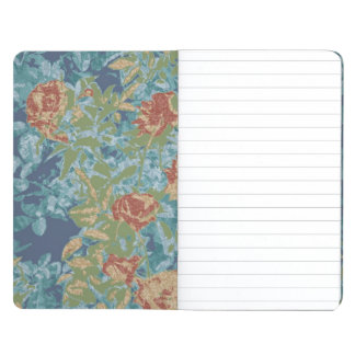 Camouflage and flowers journals