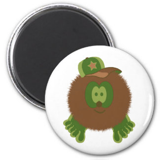 Camouflage Baseball Cap Magnet