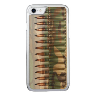 Camouflage Bullets Carved iPhone 8/7 Case