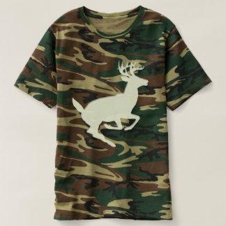 Camouflage Camo Woodland Buck Deer Tees