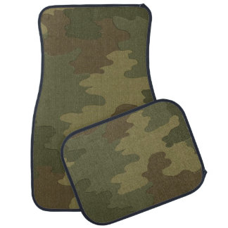 Camouflage Car Mats