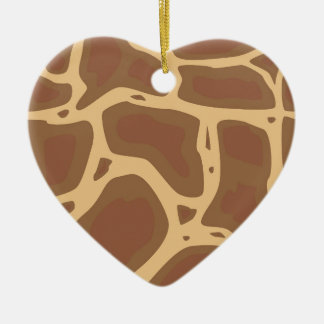 Camouflage Ceramic Heart Decoration