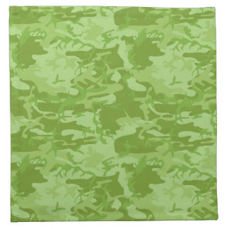 Camouflage cloth napkins