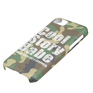 Camouflage Cool Story Babe iPhone 5C Cases
