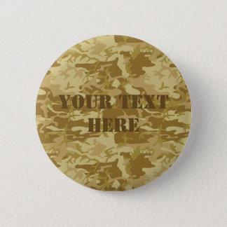 Camouflage custom button
