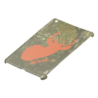 Camouflage & Deer Personalized iPad Mini Case