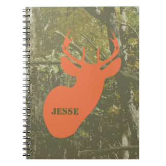 Camouflage & Deer Spiral Notebook