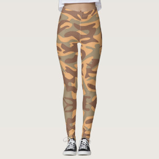 Camouflage Desert Army - power Yoga put-went Leggings