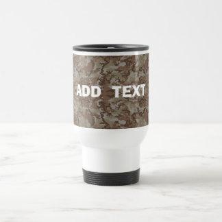 Camouflage Desert Travel Mug