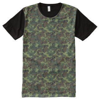 camouflage design All-Over print T-Shirt
