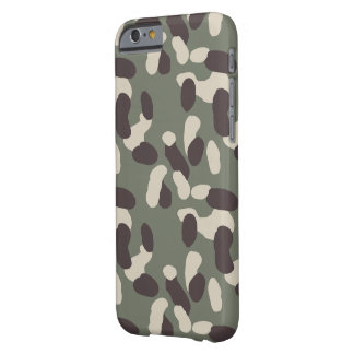 camouflage design barely there iPhone 6 case