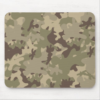 Camouflage design mouse pad