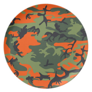 Camouflage design plate