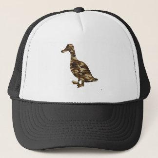 Camouflage Duck Silhouette Trucker Hat