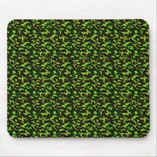 Camouflage Elite (army jungle green) ~ Mouse Pad
