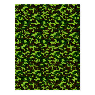 Camouflage Elite (army jungle green) ~ Postcard