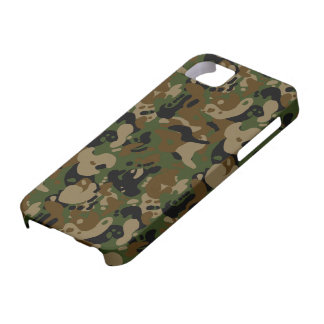 camouflage forest design case for the iPhone 5