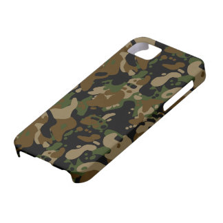 camouflage forest design iPhone 5 cover