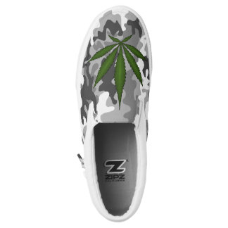 Camouflage Greenleaf shoes Printed Shoes