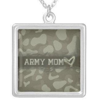 Camouflage Grunge Army Mom Love Pendants